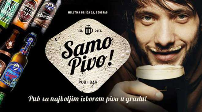 Samo Pivo Beograd pab bar